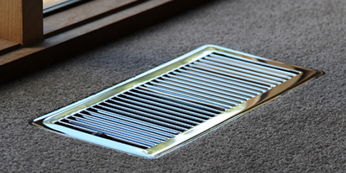 example of an air duct grill